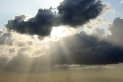 Nubes fantásticas Fotos de archivo