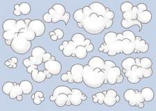Nubes fijadas Imagen de archivo libre de regalías