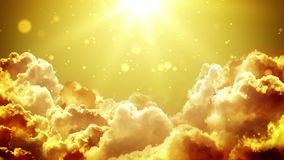 Nubes gloriosas de Gloden