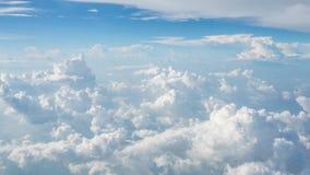 Nubes grandes estupendas en el cielo Foto de archivo