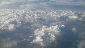 Nubes hermosas Fotografía de archivo