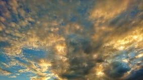 Nubes hermosas Imágenes de archivo libres de regalías