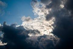 Nubes hermosas en L?bano 2019 fotografía de archivo libre de regalías