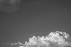 Nubes hermosas grandes Fotografía de archivo