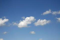 Nubes hinchadas Imágenes de archivo libres de regalías