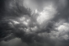 Nubes increíbles, monstruosas Imagen de archivo