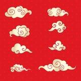Nubes japonesas Fotos de archivo libres de regalías