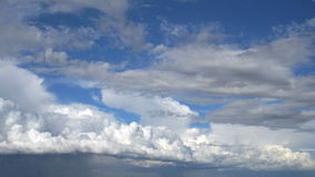 Nubes Lapso de tiempo almacen de video