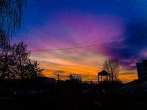 Nubes locales Foto de archivo libre de regalías