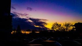 Nubes locales Fotos de archivo libres de regalías