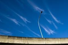 Nubes locas Fotografía de archivo