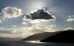 Nubes místicas imágenes de archivo libres de regalías