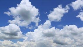 Nubes móviles Timelapse almacen de video