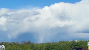 Nubes magníficas Fotos de archivo libres de regalías
