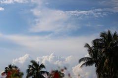 Nubes majestuosas Imágenes de archivo libres de regalías
