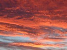 Nubes maravillosas Foto de archivo libre de regalías