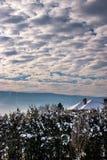 Nubes modeladas Foto de archivo libre de regalías