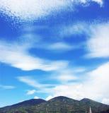 nubes moln Arkivbild