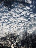 Nubes mullidas fotos de archivo libres de regalías