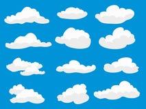 Nubes mullidas blancas libre illustration