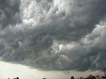 Nubes oscuras Foto de archivo