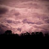 Nubes poderosas Foto de archivo