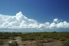 Nubes prístinas Imagen de archivo