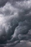 Nubes que amenazan Imagen de archivo libre de regalías
