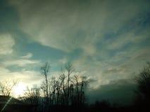 Nubes que fuman Fotos de archivo libres de regalías
