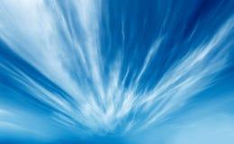 Nubes radiactivas Imágenes de archivo libres de regalías