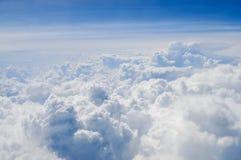 Nubes rizadas foto de archivo