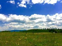 Nubes sin fin Imagen de archivo libre de regalías