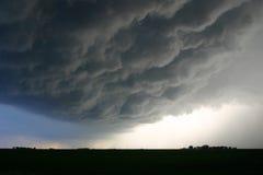 Nubes siniestras Fotografía de archivo libre de regalías