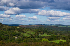 Nubes sobre Dartmoor Fotografía de archivo libre de regalías