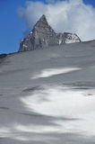 Nubes sobre el matterhorn Fotografía de archivo