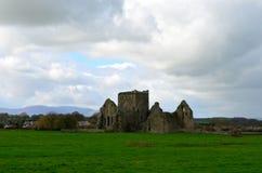 Nubes sobre la abadía de Hore Imagen de archivo