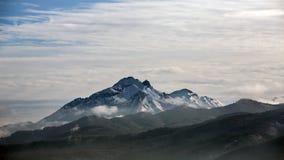Nubes sobre las montañas de Tatra Imagen de archivo libre de regalías