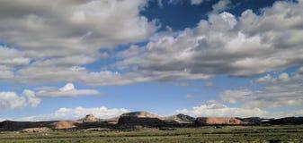 Nubes sobre New México Imagen de archivo libre de regalías