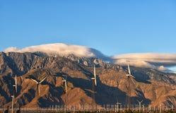 Nubes sobre San Jacinto Foto de archivo libre de regalías