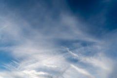 Nubes suaves Foto de archivo libre de regalías