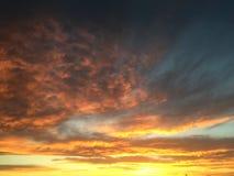 Nubes Sun Imagen de archivo libre de regalías