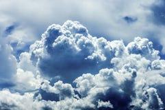 Nubes tempestuosas Imagen de archivo libre de regalías