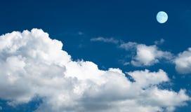 Nubes tempestuosas Foto de archivo libre de regalías