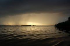 Nubes tormentosas Fotos de archivo libres de regalías