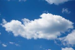 Nubes tranquilas Foto de archivo libre de regalías