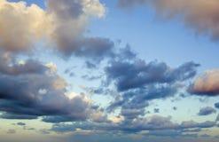 Nubes tropicales Foto de archivo