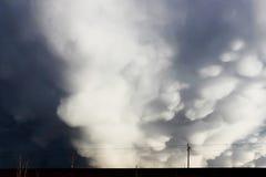 Nubes tubulares Fotos de archivo