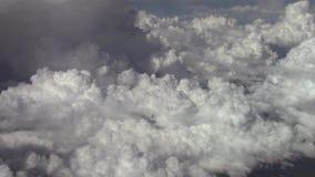 Nubes vistas de arriba metrajes