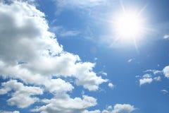 Nubes y cielo Fotografía de archivo libre de regalías