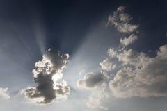 Nubes y cielo Imagenes de archivo